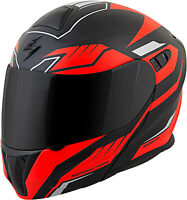 Scorpion EXO-GT920 Shuttle Modular Motorcycle Helmet Black/Red