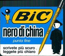 Adesivo Bic nero di China penna anni 70