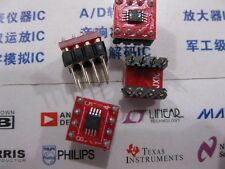 1x OPA827 MSOP to DIP8 Low-Noise High-Precision JFET-Input Op Amp  OPA827AIDGKR​