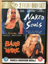 Pamela Anderson NAKED SOULS + BARB WIRE ~ Erotic Thriller Double Bill UK DVD