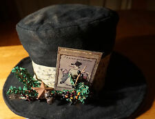 VINTAGE STYLE FROSTY SNOWMAN MAGIC TOP HAT CHRISTMAS TABLE DECOR CENTERPIECE NEW