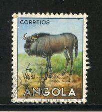 1953 - ANGOLA - 4 Ags. GNU - USATO - LOTTO/29034