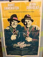 "DOUGLAS, KIRK/ LANCASTER,BURT ""Tough Guys"" Original Movie Poster 1986"
