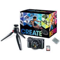 Canon PowerShot G7 X Mark II 20.1MP Digital Camera Video Creator Kit
