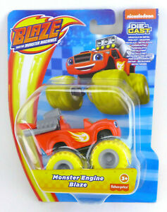 Nickelodeon Blaze And The Monster Machines MONSTER ENGINE BLAZE Die Cast
