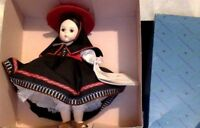 "Vintage Doll. Madame Alexander Miniature Showcase Doll. Peru. 8"". MIB. #556"