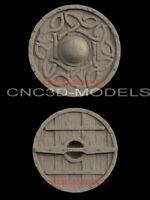 3D STL Model for CNC Router Carving Artcam Aspire Vcarve pro Shield Decor IS625