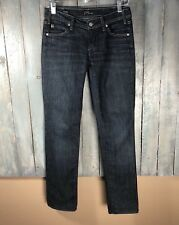 Citizens Of Humanity Sz 27 Avedon #133 Low Waist Stretch Skinny Leg Dark Jean