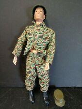 "Vintage Hasbro SOTW GI Joe Soldier 1960's 12"" Figure pat 3277602"