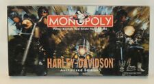 VTG Monopoly Board Game 1997 Complete Harley Davidson Motorcycle Hasbro Edition
