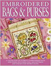 Embroidered Bags and Purses, New, Milner, Sally Book