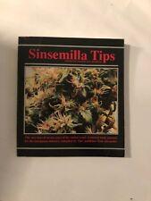 SINSEMILLA TIPS DOMESTIC MARIJUANA JOURNAL BY TOM ALEXANDER 1988 BOOK