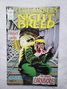 Clive Barker's Night Breed #17 (Jul. 1992, Epic) [FN+ 6.5]