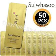 Sulwhasoo Essential Rejuvenating Eye Cream EX 1ml x 50pcs (50ml) Sample Newist