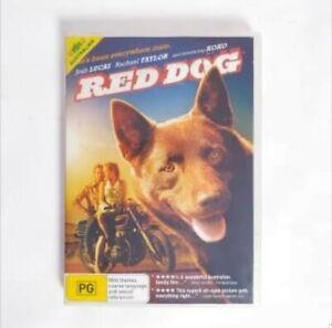 Red dog Movie DVD Region 4 AUS - Australian Drama Doggos