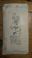 Antique PATTERN #1097, Ladies' & Misses' Blouse, Size 14