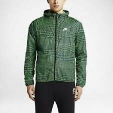 Nike 644127-361 Mens Running RU Fly Windrunner  Green Gray  3XL New $110