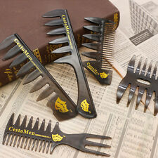 5Types Professional Hair Salon Styling Comb Set Hairdressing Brush Barbers Acces