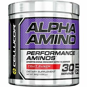 Cellucor G4 Alpha Amino BCAA Workout Performance Powder Fruit Punch 30 Uses 13.4