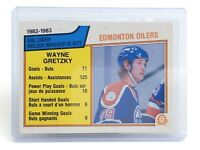 1983-84 Wayne Gretzky #22 Center Edmonton Oilers O-Pee-Chee Hockey Card I033