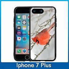 Red Bird Winter For Iphone 7 Plus (5.5) Case Cover By Atomic Market