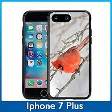 Red Bird Winter For Iphone 7 Plus & Iphone 8 Plus (5.5) Case Cover