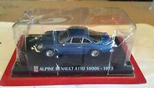 RENAULT A110 Alpine A 110 1600S 1600 blau blue 1973 IXO Altaya Sonderpreis 1:43