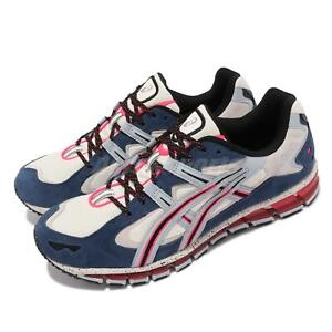 Asics GEL-Kayano 5 360 Cream Grey Blue Red Men Vintage Casual Shoes 1021A157-100