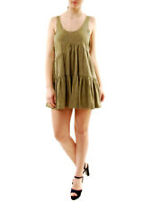 One Teaspoon Ramblin Dinky Khaki Minikleid Größe AU6 UVP 116 € BCF71