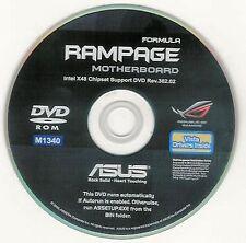 ASUS RAMPAGE FORMULA  Motherboard Drivers Installation Disk M1340