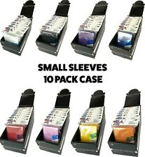 More details for ultra pro small card sleeves 10 pack case 600 card sleeves! yugioh size