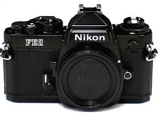*** NEW IN BOX,NIB *** Nikon FE2 35mm SLR Black Camera Body W/ Titanium Shutter
