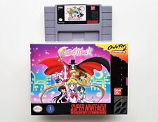 Sailor Moon R  w/case SNES Super Nintendo Beat Em Up / Brawler NTSC (USA Seller)