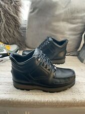 Rockport XCS Hydroshield Waterproof Boots - BLACK Leather Size 8 UK