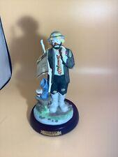 "Emmett Kelly Jr. ""Fisherman� figurine"