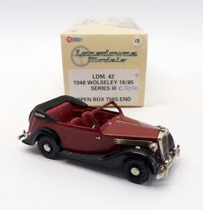 Lansdowne Models 1/43 Scale LDM42 - 1948 Wolseley 18/85 S.III Cabrio - Reworked