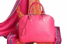 ✨❗️ NEW Authentic $2120 Louis Vuitton EPI Alma PM Handbag M42046 2016 Hot Pink ❗
