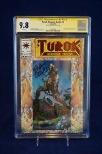 Turok, Dinosaur Hunter 1 7/93 Valiant CGC 9.8 SIGNED BART SEARS (Highest grade)
