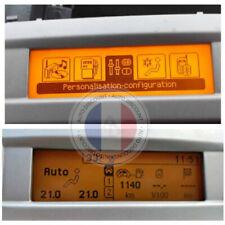 Ecran afficheur multifonction fiat Peugeot 407 Citroen C5 NEUF GARANTIE 1AN
