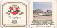 """Schnaitl Bier, Gundertshausen - Bierdeckel """"Wirt z'Furkern"""""""