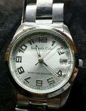 KENNETH COLE NEW YORK UNISEX STAINLESS STEEL WATCH