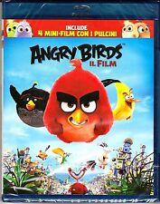Blu-ray **ANGRY BIRDS • IL FILM** più 4 film dei Pulcini nuovo 2016