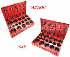 826 Pc. O-Ring Assortment Set Plumbing METRIC & SAE Seal Rubber Gasket Tool Kit