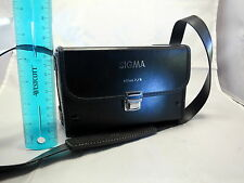 """Sigma 800mm F8 Mirror Black Leather Lens Hard Case 4.5"""" tall x 6.5""""wide 5404023"""