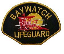 Baywatch Lifeguard Logo Wappen Abzeichen Eisen oder Aufnäher Kostüm Aufnäher
