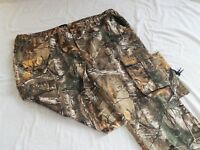NEW Realtree Xtra Camo Cargo Camouflage Deer Bow Hunting Pants Men's Jeans 3XL