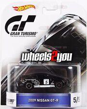 2009 NISSAN GT-R Gran Turismo - 2016 Hot Wheels Retro Entertainment Real Riders