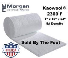 Ceramic Fiber Blanket 2300f 8 Thermal High Temp Insulation 1x12x24 Usa Made