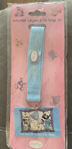 My blue nose friends collectable lanyard & pin badge set new Me To You Bears