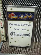 CRABTREE & EVELYN Music For Christmas NWT cassette tape Temple University Choir